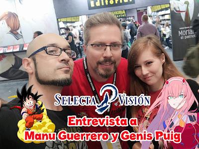 Entrevistamos a Manu Guerrero y Genis Puig de Selecta Visión.