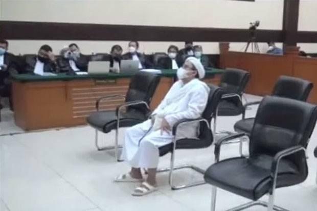 Habib Rizieq Dituntut 6 Tahun Bui di Kasus Swab RS Ummi Bogor