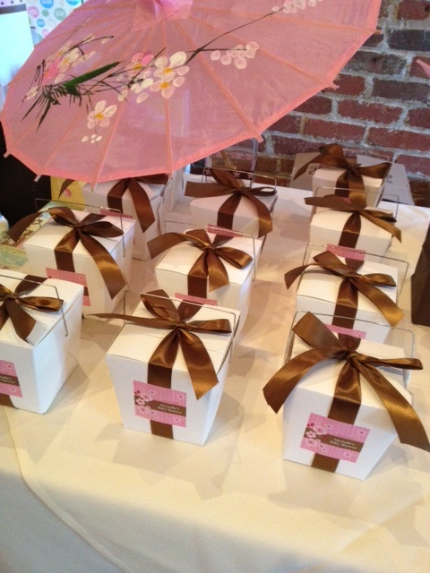 Asian baby shower favors
