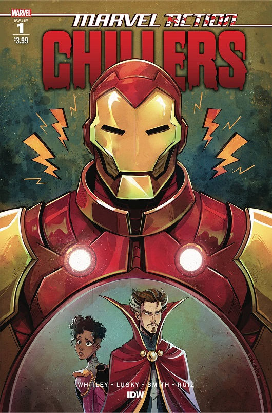 Cover of Marvel Action Chillers #1