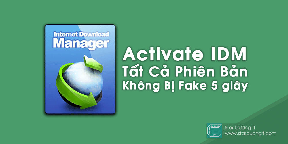 Activate Internet Download Manager Tất Cả Phiên Bản - Không Bị Fake 5 giây