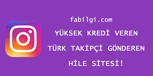 Instagram Türk Takipçi Hilesi Yüksek Kredili Site Haziran 2021