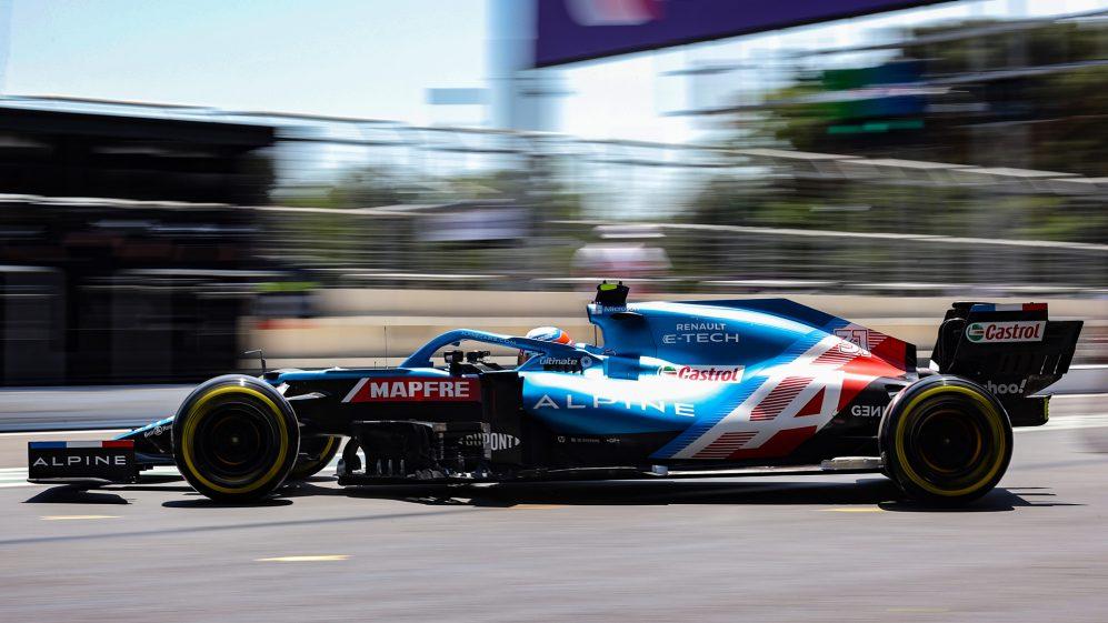 Ocon é 12º no campeonato, um ponto atrás de Alonso, antes do Grande Prêmio da França