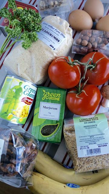 Fanny Cradock Vegetarian Buffet