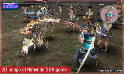 Samurai Warriors Chronicles 3DS CIA Reg Free