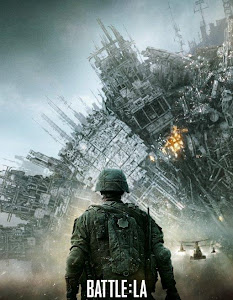 Poster Of Free Download Battle Los Angeles 2011 300MB Full Movie Hindi Dubbed 720P Bluray HD HEVC Small Size Pc Movie Only At worldfree4u.com