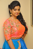 Nithya Shetty in Orange Choli at Kalamandir Foundation 7th anniversary Celebrations ~  Actress Galleries 026.JPG