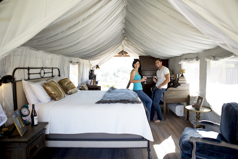 Glamping in Buellton California Weekend Getaways Ideas