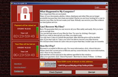 Hampir Semua Korban Yang Terkena WannaCry Memakai Windows 7