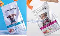 Logo Diventa una delle 1000 tester Amanova, cibo per cani e gatti