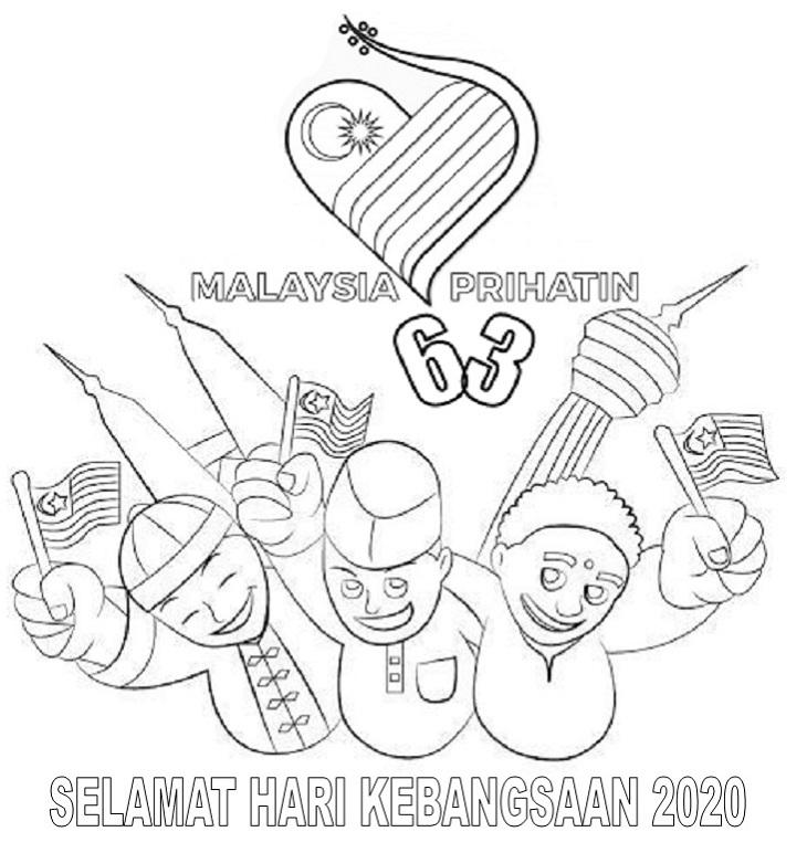 Malaysia Prihatin Mewarna Logo