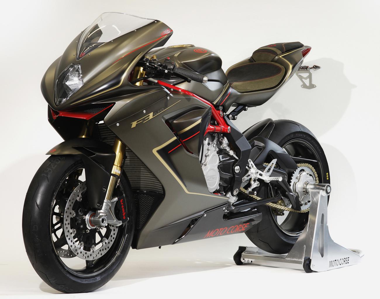 Racing Caf U00e8  Mv Agusta F3  U0026quot Kuma U0026quot  By Moto Corse