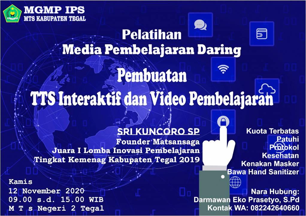 Pemateri Workshop Pembuatan Media Pembelajaran
