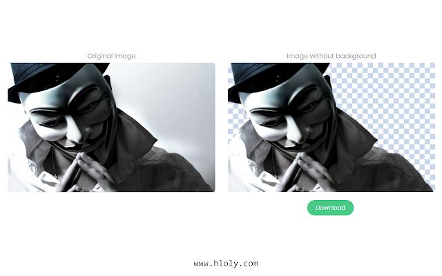أفضل موقع يمكنك من خلالة حذف خلفية الصورة لكي تستطيع تحميلها كصورة مفرّغة
