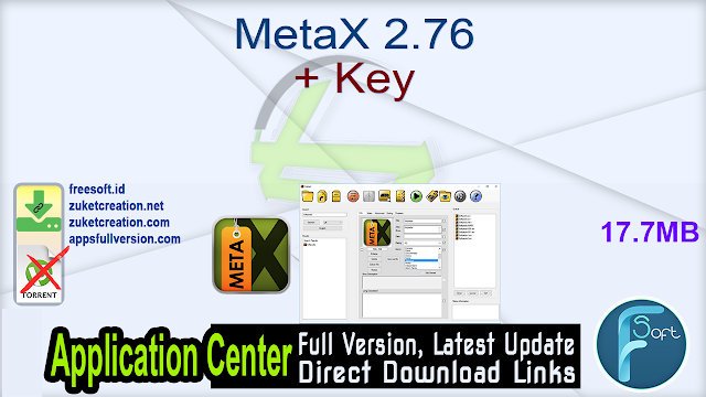 MetaX 2.76 + Key