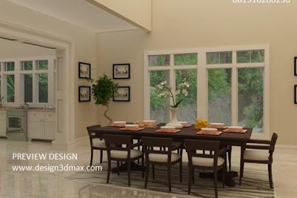 Jasa design ruang makan murah tanpa uang muka