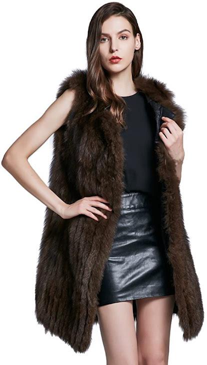 Best Quality Genuine Real Fox Fur Vests