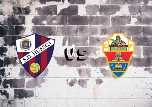 Huesca vs Elche  Resumen