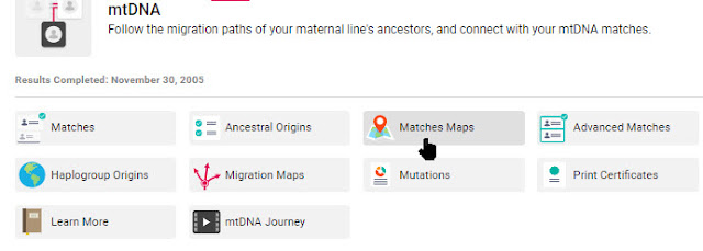 mtDNA maps at Family Tree DNA