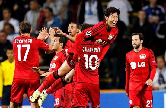 Son Heung Min giúp Leverkusen nhận tài trợ của LG Electronics 3 năm.