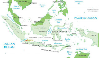 Más de 17.000 islas componen Indonesia.