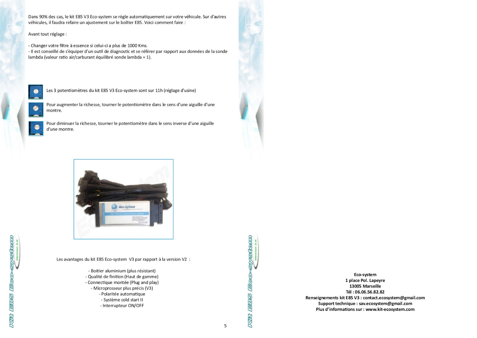 kit ethanol marseille