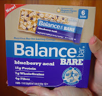 Balance Bar New BARE Blueberry Acai Nutrition/Energy Bars.jpeg