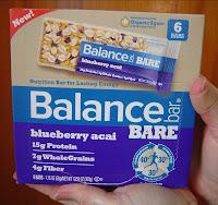 Balance Bar New BARE Blueberry Acai Nutrition/Energy Bars.jpeg