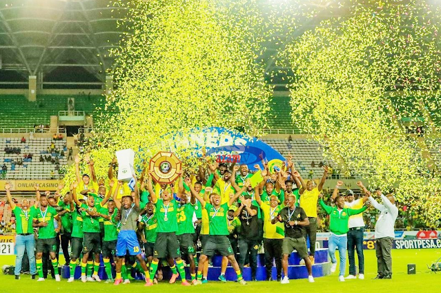 YANGA has won the Community Shield title in front of their traditional hometown Simba in a game that had a huge interest.