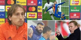 Modric on Barcelona complaint on El Clasico referee