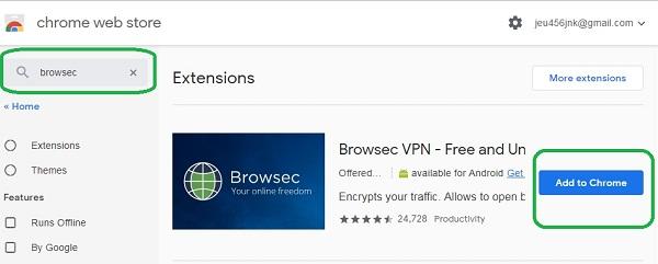 Cara Mengakses Situs yang Diblokir Internet Positif Di Google Chrome Dengan Browsec Di PC 4