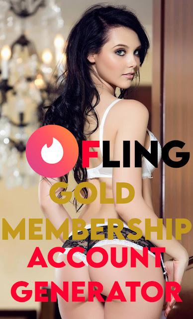 Fling - GOLD Membership [Account Generator]