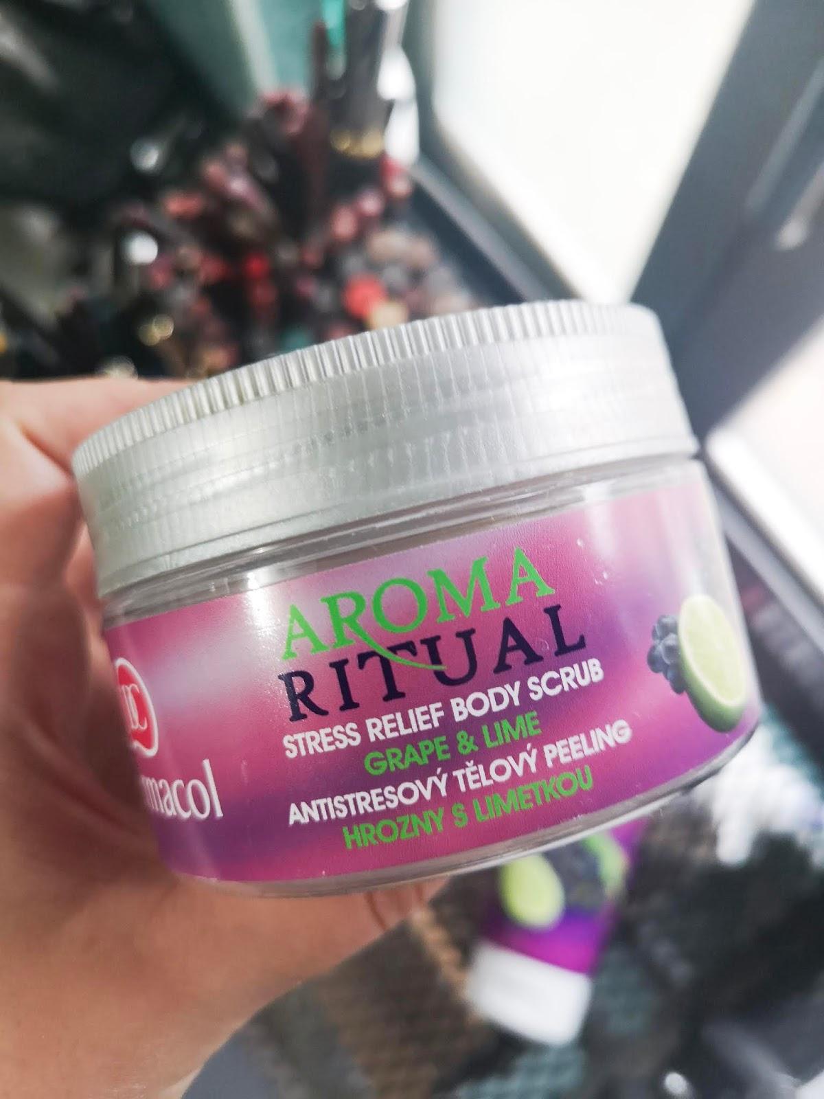 Exfoliante corporal  Aroma Ritual de Dermacol