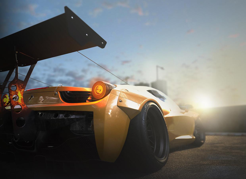 Biến thể cực lạ cực ngầu của siêu xe Ferrari 458