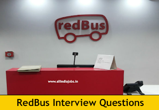 redBus Interview Questions