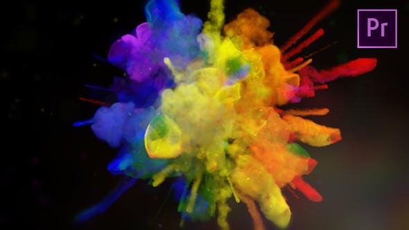 Exploding Colors Logo Reveal[Videohive][Premiere Pro][23198911]