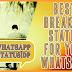 30+Best Breakup Status for your Whatsapp - Sad & Love failure Status