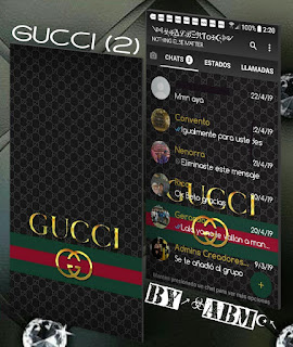Gucci 2 Theme For YOWhatsApp & Fouad WhatsApp By ALBERTO