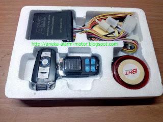 Alarm Motor Remote BHT New Pink