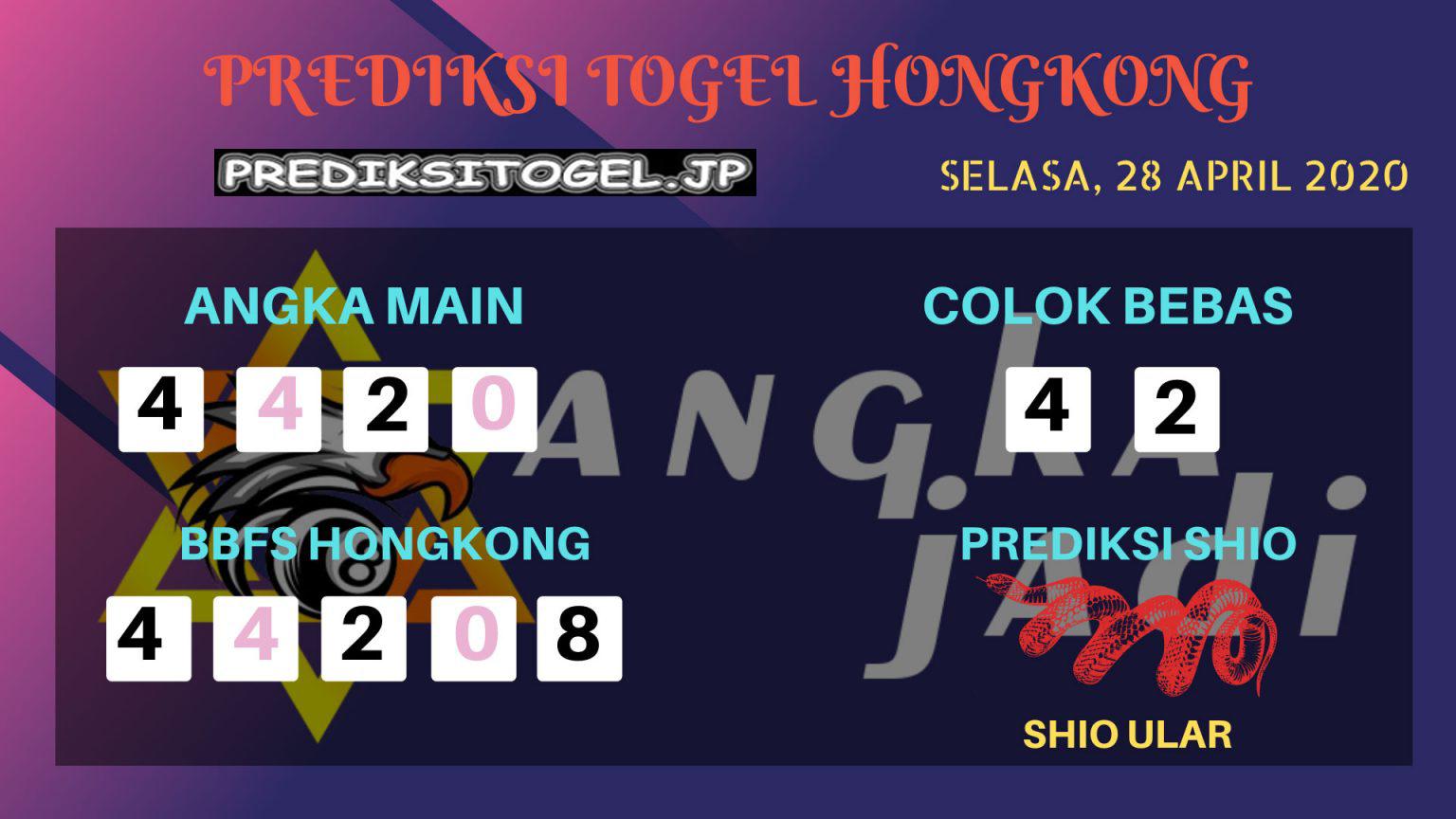 Prediksi HK 28 April 2020 - Prediksi Angka HK