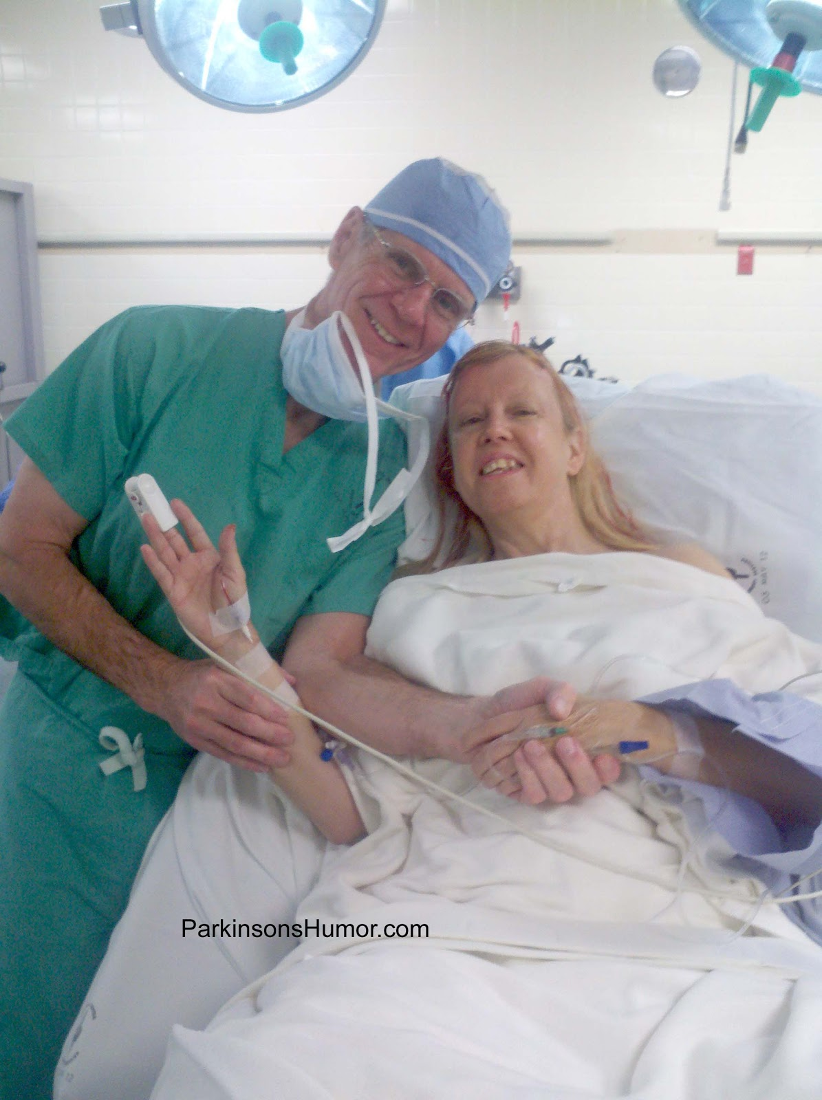 My DBS Story: Parkinson\'s DBS Surgery Day