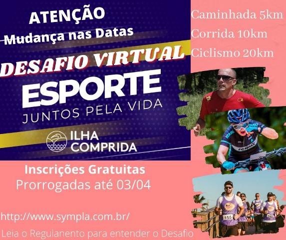 Ilha Comprida foi convidado pelo SESC a apresentar seu trabalho virtual no esporte no evento Gestão esportiva em tempos de pandemia