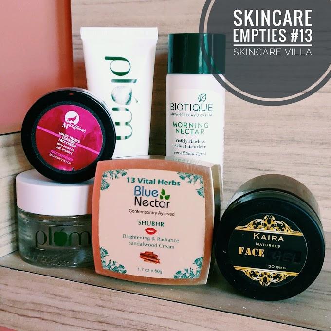 Skincare Empties #13
