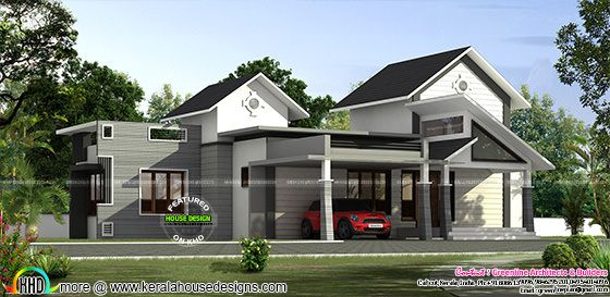 Modern single floor home 1922 sq-ft