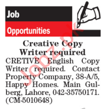 Real Estate Company Jobs 2021 in Pakistan