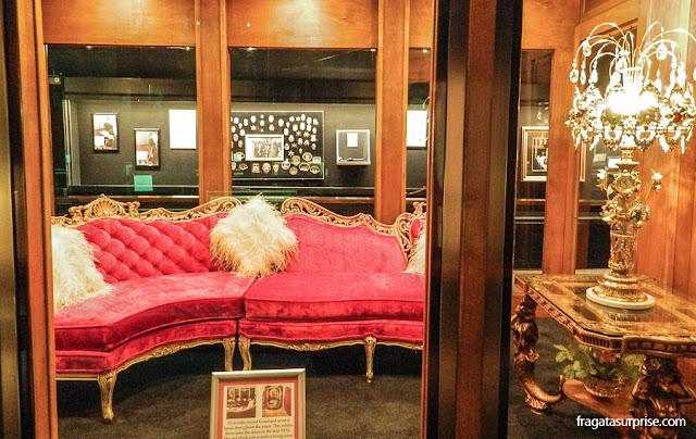 Móveis da mansão de Graceland
