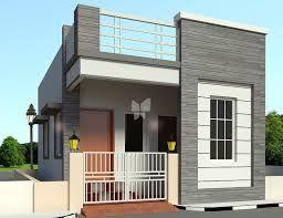 แบบบ้านชั้นเดียวขนาดเล็กมีดาดฟ้า