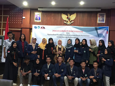 Dwita Ria Siap Suarakan Aspirasi Mahasiswa ke Senayan Demi Kesiapan SDM Pariwisata Lampung
