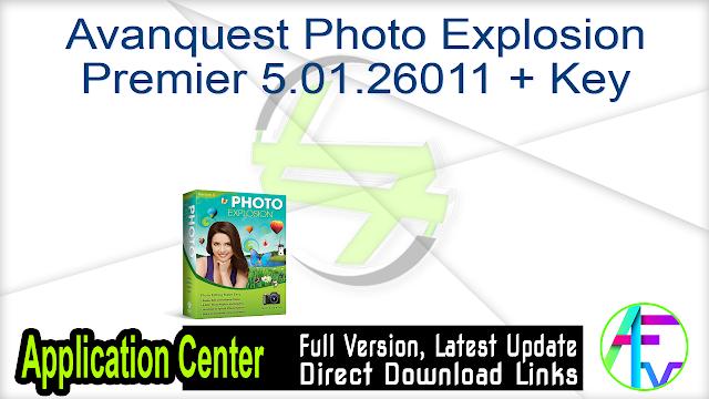 Avanquest Photo Explosion Premier 5.01.26011 + Key