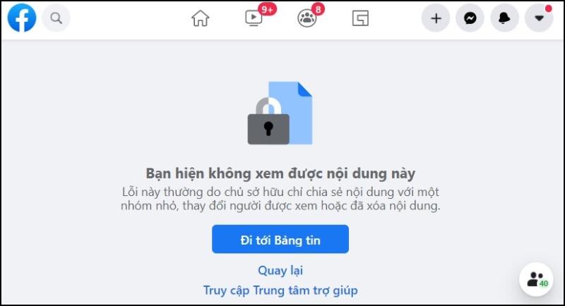 cách nhận biết, phát hiện ai đó đã chặn bạn trên Facebook chuẩn nhất